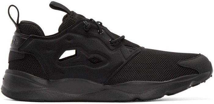 Reebok Classics  Black Furylite Low-Top Sneakers gd  Yeezy