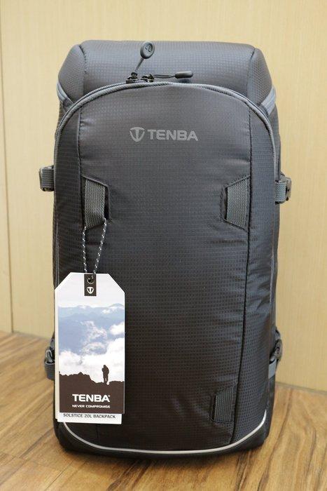 【日產旗艦】天霸 Tenba Solstice 20L 636-413 636-414 20升 極至 相機後背包 公司貨