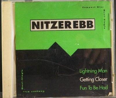 CD NITZEREBB-LIGHTNING MAN~GETTING CLOSER~FUN TO BE HAD~Made in U.S.A.~CH~