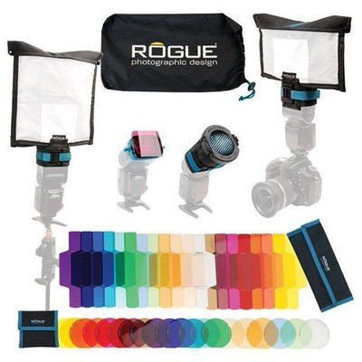 【EC數位】美國 Rogue LF-5050 專業移動式燈光套組 濾色片 柔光幕 反光板 蜂巢罩