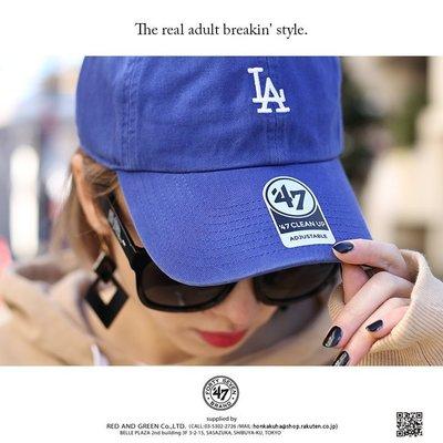 [SREY帽屋]預購*47 Brand CLEAN UP Base Runner MLB 洛杉磯道奇 LA 小圖 老帽