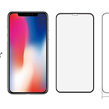 美觀版 正版現貨 imos iPhone X 5.8吋 SOLID EX 康寧 2.5D 不入塵 超滿版 強化玻璃保護貼