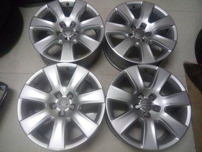 奧迪A8原廠18吋5孔112鋁圈A4--A6--T4福斯--GTI--JETTA--PASSAT--TDI--AUDI