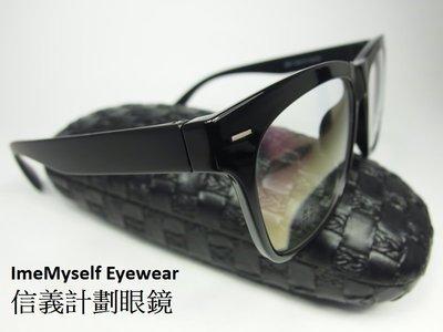 【信義計劃眼鏡】Alain Delon AD6677 亞蘭德倫 TR90 大方框 超輕 超彈性 亞洲版高鼻墊 運動可戴
