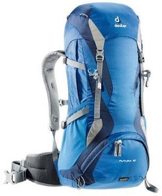 【大山野營】送手電筒 德國 deuter 34254 Futura 32L+3L 透氣網架背包 登山背包 健行背包