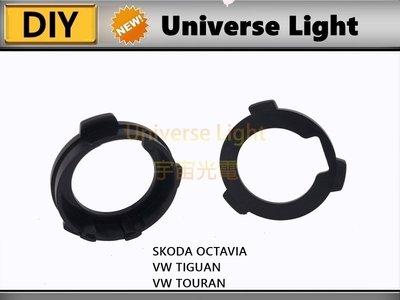 VW LED LED 大燈 專用 轉接座 固定座 卡扣 特殊座 卡盤 Skoda Octavia Tiguan