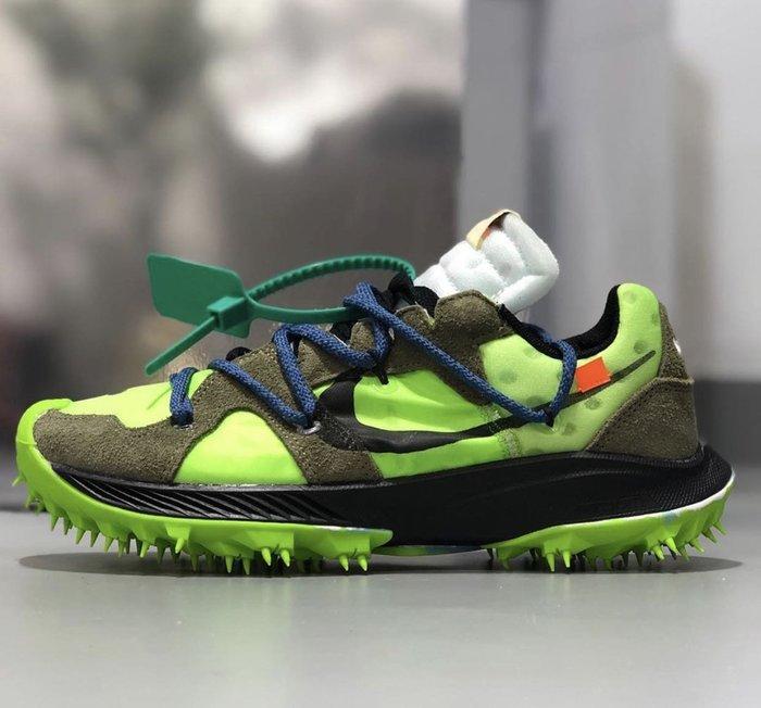 【Cheers】預購 Nike Zoom Terra Kiger 5 Off-White CD8179-300 綠