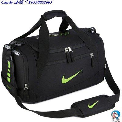 Candy 小鋪ヾ耐克/ Nike健身運動手提包 男士背包旅行包 大容量行李袋瑜伽包幹濕分離包-大號