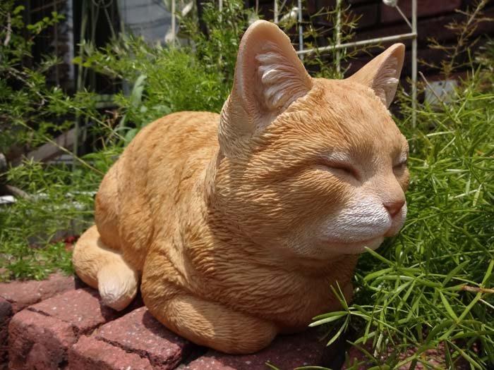 《齊洛瓦鄉村風雜貨》日本zakka雜貨 貓咪系列擺飾  貓咪趴著睡覺 可愛小貓咪裝飾 居家佈置 店家擺飾