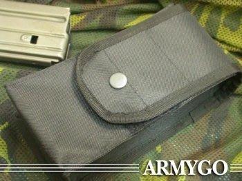 【ARMYGO】黑色步槍彈匣袋