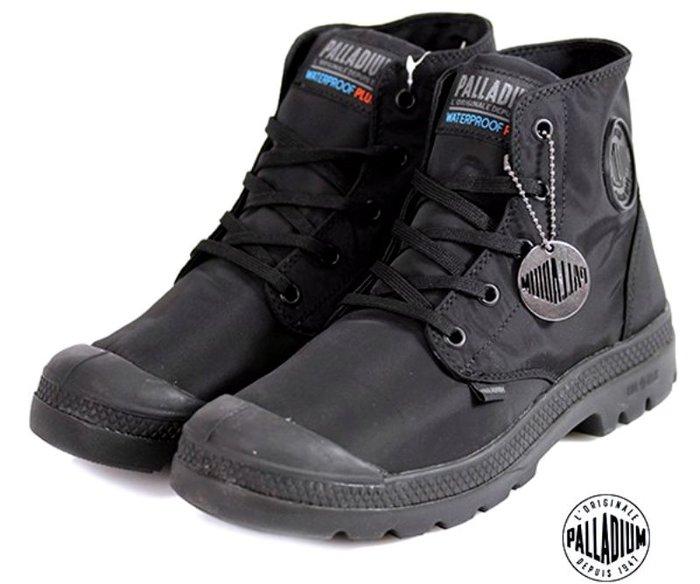 =CodE= PALLADIUM PAMPA PUDDLE LITE+ WP 防水輕量軍靴(全黑)76117-008 女