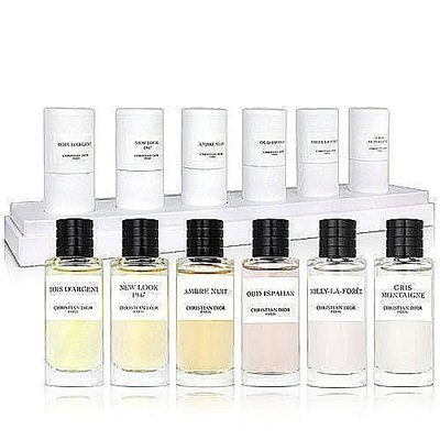 全新CD Christian Dior迪奧 高級訂製香水精巧版(六入一組)7.5ml*6瓶