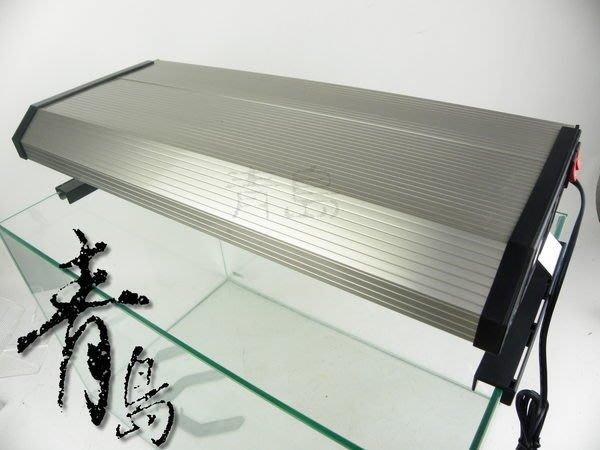 H。青島水族。3T5-2124-1極之光二代-T5超薄型鋁合金燈具(含腳架+風扇*2+免運)2.1尺三燈(寬20cm)