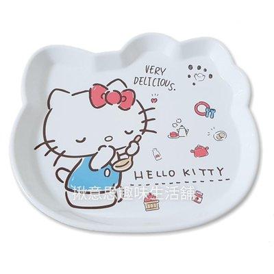 韓國製HELLOKITTY頭型小托盤 現貨/KITTY小托盤 點心盤 茶盤 KITTY托盤 盤子 置物盤