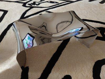 「斷捨離 出清拍賣」全新盒裝Alessi HR04 - Scup 18/10 桌上收納盤