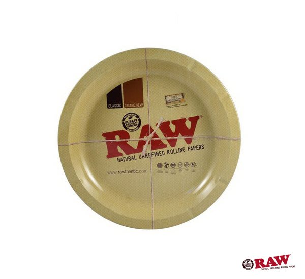 GOODFORIT / 西班牙 RAW Round Metal Rolling Tray 金屬盛盤