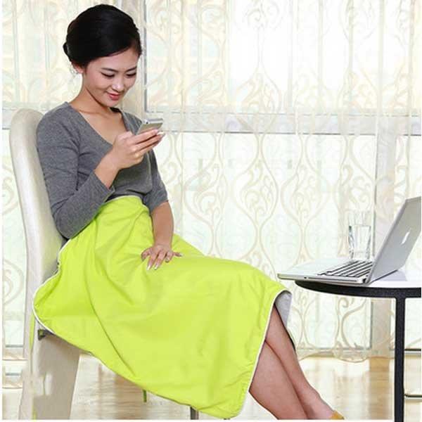 5Cgo【鴿樓】會員有優惠 42499957138 防輻射服孕婦裝孕婦防輻射蓋毯 金屬纖維防輻射毯子四季圍裙 薄款