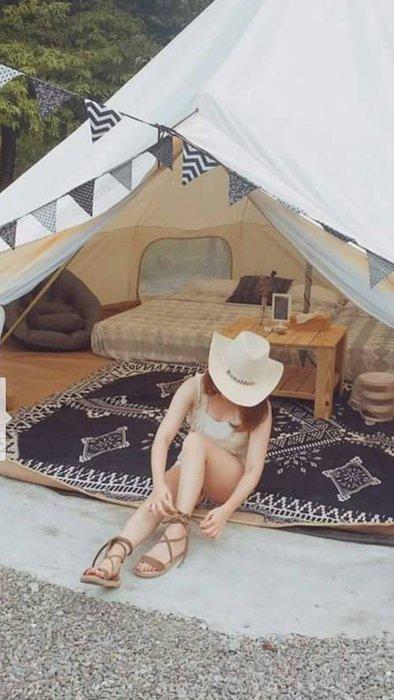 230x250cm/戶外露營用品/ 野餐毯/多用途毯/露營保暖蓋毯Sugar Korea100