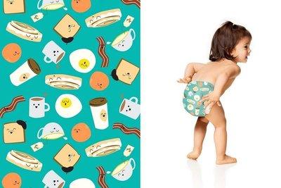 【美國預購】The Honest 環保 有機 無毒嬰兒尿布 -早餐