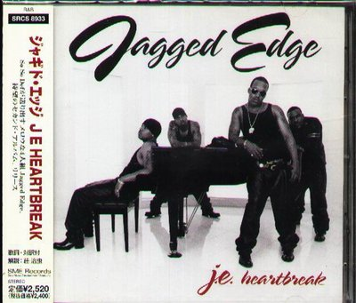 K - Jagged Edge - J E Heartbreak - 日版 - NEW