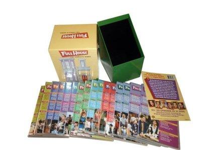 【優品音像】 原版美劇 青春滿屋 Full House 歡樂滿屋 完整珍藏版高清DVD 32碟 精美盒裝