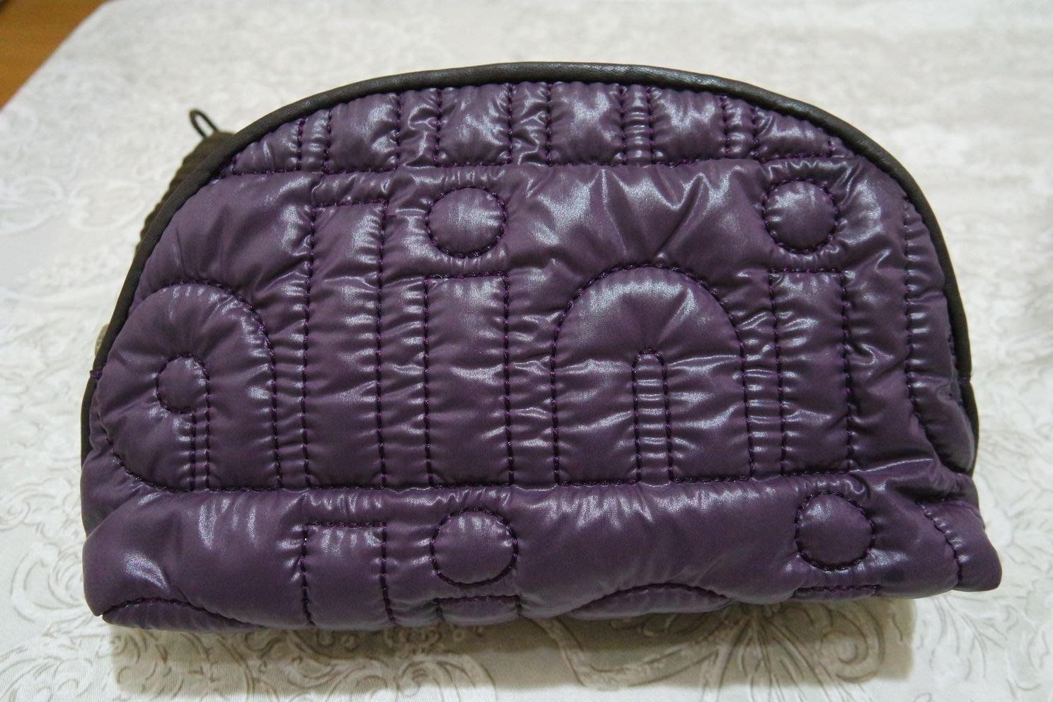 BORSALINI 紫色化粧包