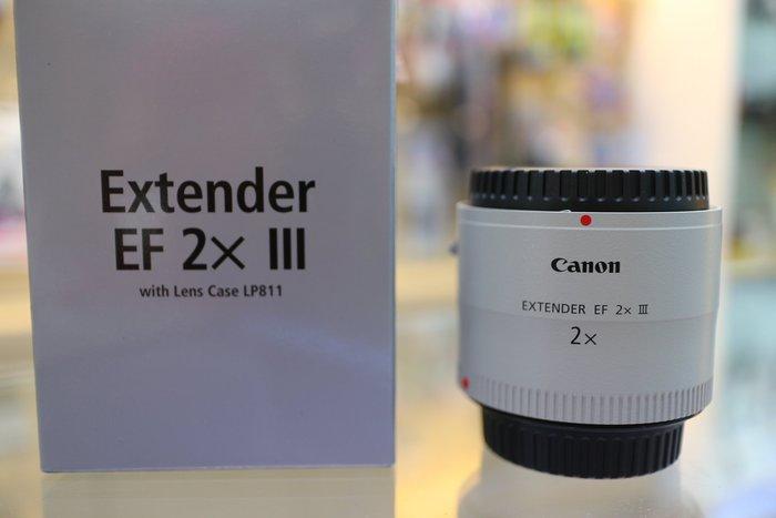 【日產旗艦】Canon Extender EF 2X III 三代 加倍鏡 增距鏡 原廠公司貨 2倍鏡 2倍 望遠