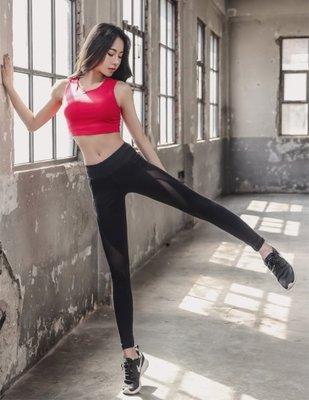 韓國品牌Barrel運動系列 正貨代購 黑色網紗褲瑜珈跑步 健身套裝 材質超好 私心大推