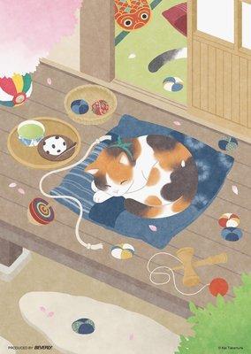 日本進口拼圖- 療癒系拼圖  喵星人 小貓 貓咪 (Beverly, 108片, 108-804)