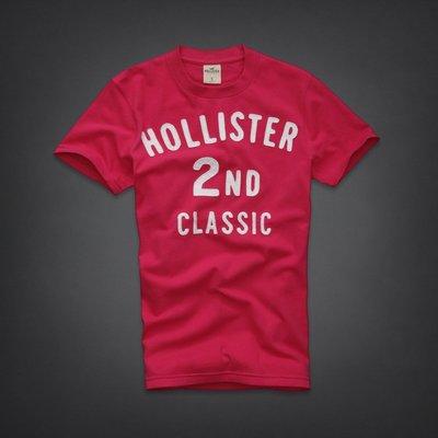 🇺🇸 Hollister 2nd Classic 刺繡貼布 T恤 (M) Abercrombie A&F Hco
