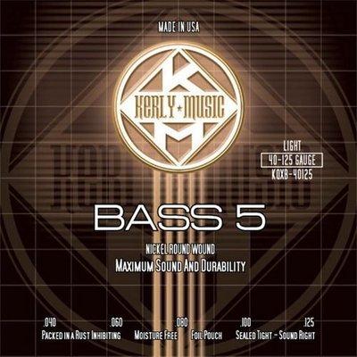 ☆ 唐尼樂器︵☆ Kerly Strings 冰火弦 KQXB-40125 (40-125) 美製 Bass 電貝斯弦(5弦/五弦用)