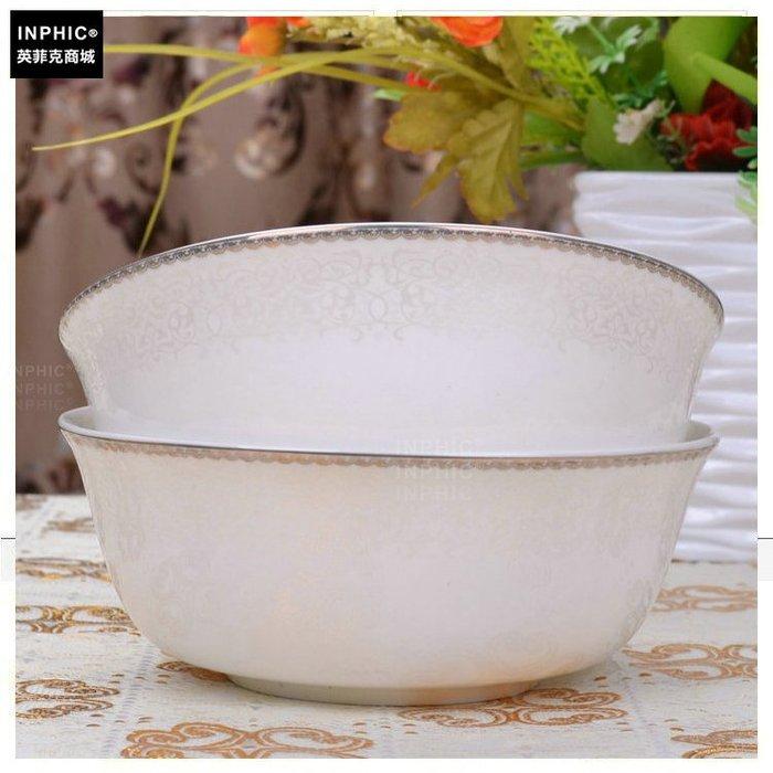 INPHIC-骨瓷 餐具單品 麵碗 白如意_S01861C