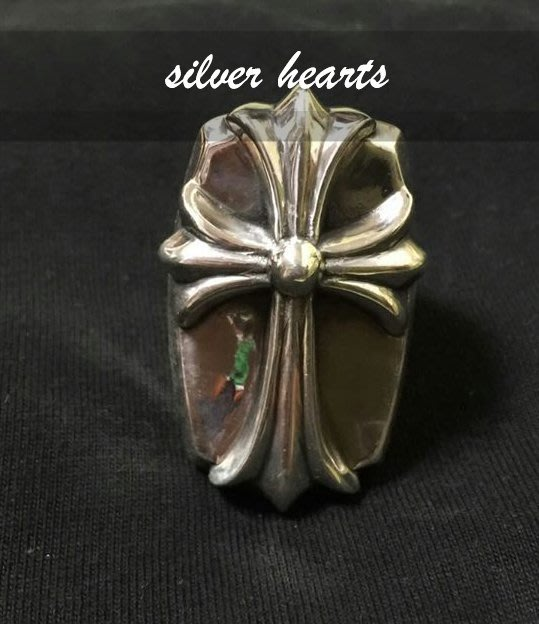 【SILVER HEARTS】Goro's Chrome Hearts 克羅心 經典十字架 純銀戒指 指環