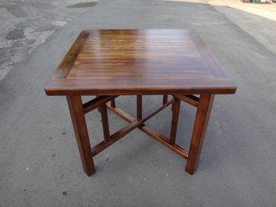 C009 {崙頂傳統原木家具行}~杉木邊框拜拜合桌 腳面可分開 接受訂做.訂色  柚木色有現貨 免運費 直接下標