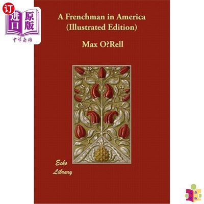 [文閲原版]A Frenchman in America (Illustrated Edition)