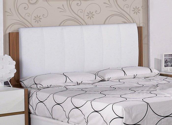 【DH】商品貨號N557-3商品名稱《巴卡》5尺雙人床片。簡約優美經典。主要地區免運費