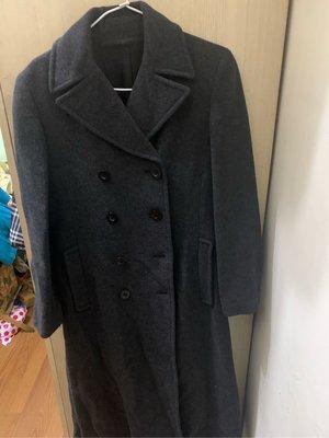 女長大衣毛料專櫃bossing肩16長48胸18袖22吋80%毛料9.5成新((櫃3)