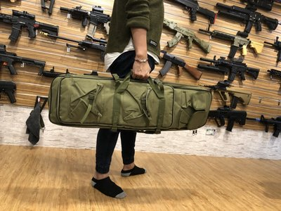 【炙哥】多功能 水彈槍包 BB槍包 生存遊戲 可收 長槍 短槍 各一把 狙擊槍 槍袋 子母包 水彈槍 戶外 露營 玩具