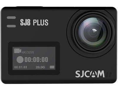 呈現攝影-SJCAM SJ8 Plus 黑色 可夜拍 4K 縮時夜景 長曝 防手震 2.33吋 gopro6