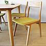 【 一張椅子 】無印北歐 綠風草原餐椅...