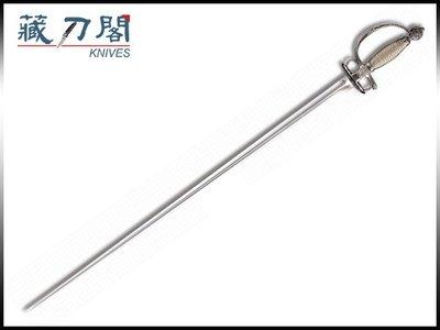 《藏刀閣》COLD STEEL-(Small Sword)三裬劍