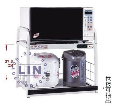 【品特優家具倉儲】P342-05電器架碗碟櫃A-112桌上型