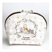 🎈現貨🎈日本Disney 迪士尼 小熊維尼 Pooh 化妝包 雜物包 收納包 拉鍊包 女包 小包 手拿包 外出包 維尼熊