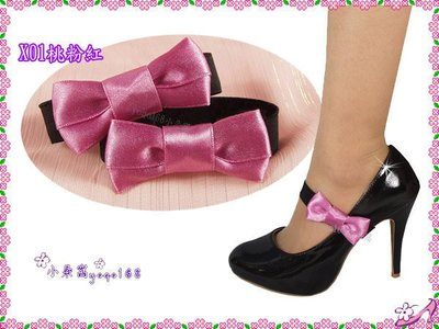 小朵窩~絲滑缎面雙層蝴蝶結 多色 束鞋帶鬆緊帶.鞋材.高跟鞋低跟鞋可a la sha可愛風