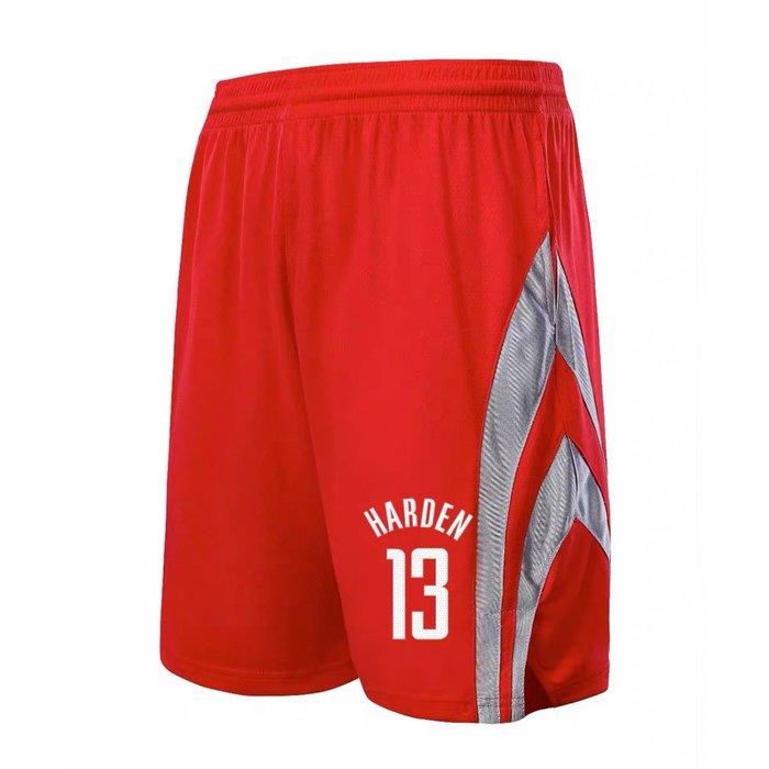 💖大鬍子James Harden哈登運動籃球短褲💖NBA球衣火箭隊Adidas愛迪達健身訓練慢跑五分純棉褲子男388