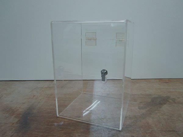 ~廣告舖~  桌上型- 捐款箱 功德箱 抽獎箱 抽籤箱 發票箱 小費箱 惠賜名片箱(附鎖,鑰匙)