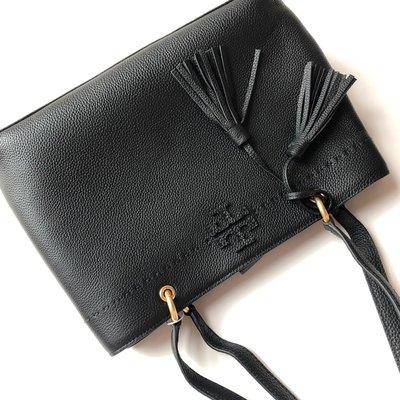 Tory burch MCGRAW TRIPLE-COMPARTMENT SATCHEL手提包側背包肩背包