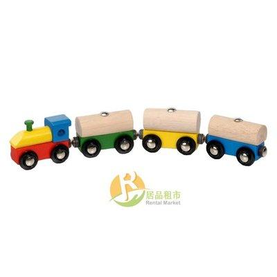 【居品租市】 專業出租平台 【出租】  mentari 木頭玩具 奇妙森林軌道小火車