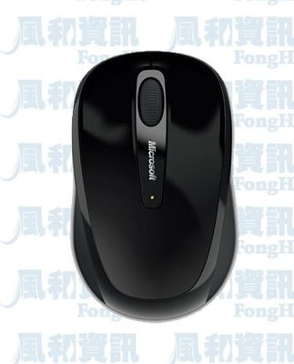 Microsoft 微軟無線行動滑鼠 3500【風和資訊】
