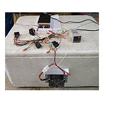 AC110~220V寵物用溫度控制小冷氣(包含制冷模組+溫控器+電源供應器)